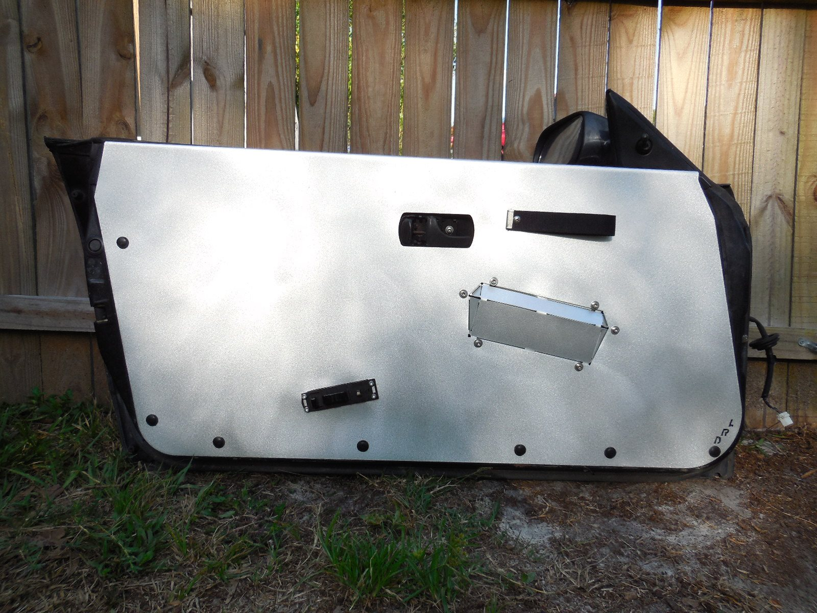S13 240sx Aluminum Door Panels