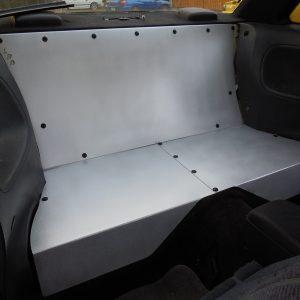 S13 Rear Seat Delete